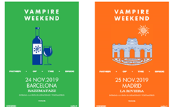 Vampire Weekend anuncia fecha en Barcelona y Madrid